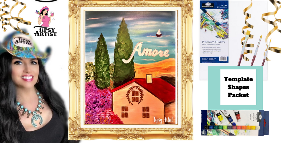 Amore in Italy ~ Painting Party Pack