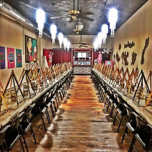 Tipsy Artist Paint Palace