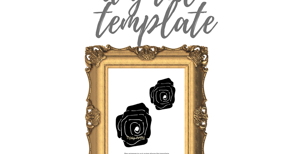 Roses Template Pack