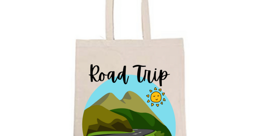Road Trip Tote Bag ~ Painting Kit