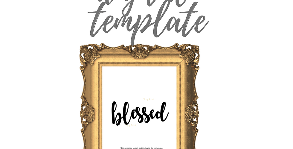 Blessed Template Pack