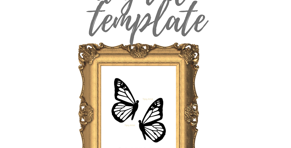 Butterflies Profile (A)  Template Pack