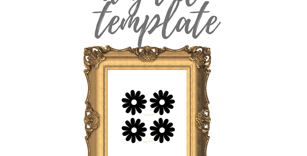 Daisies  Template Pack
