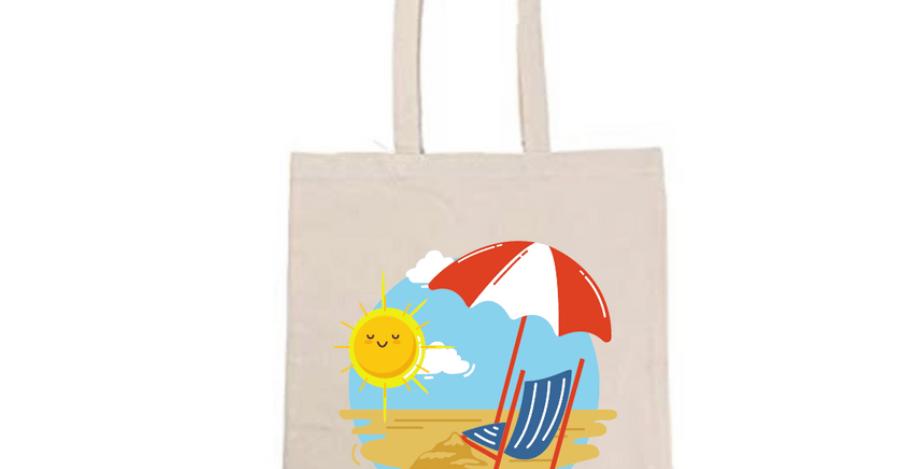 Sunshine Beach  Tote Bag ~ Painting Kit