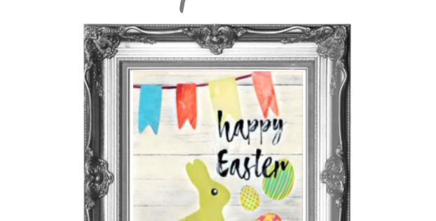 Happy Easter Flags & Eggs Traceable Pack with Graphite Paper