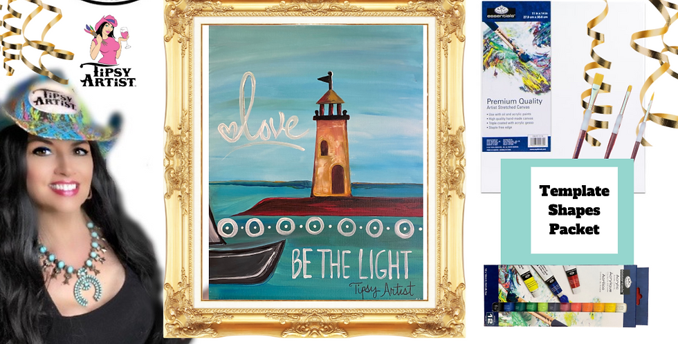 Lighthouse ~ Painting Party Pack