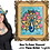 Thumbnail: Peacock with Roses & Butterflies ~ Painting Party Pack