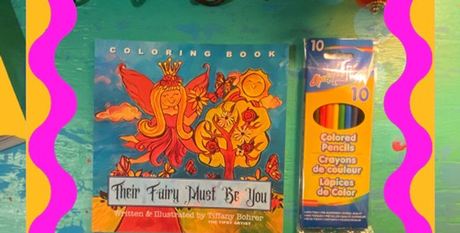 Their Fairy Must Be You ~ written, illustrated and read by Tiffany Bohrer