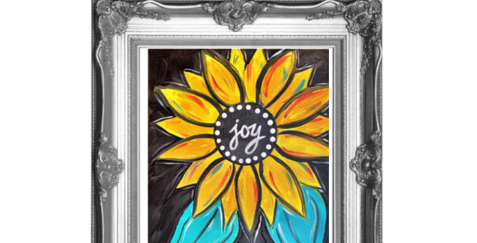 Joy Sunflower Traceable Pack with Graphite Paper