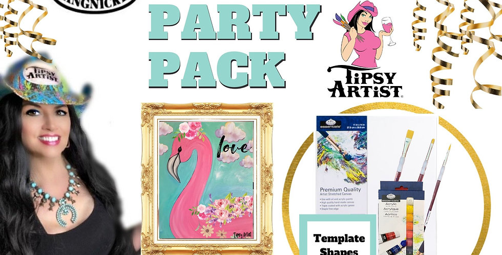 Flamingo ~ Painting Party Pack