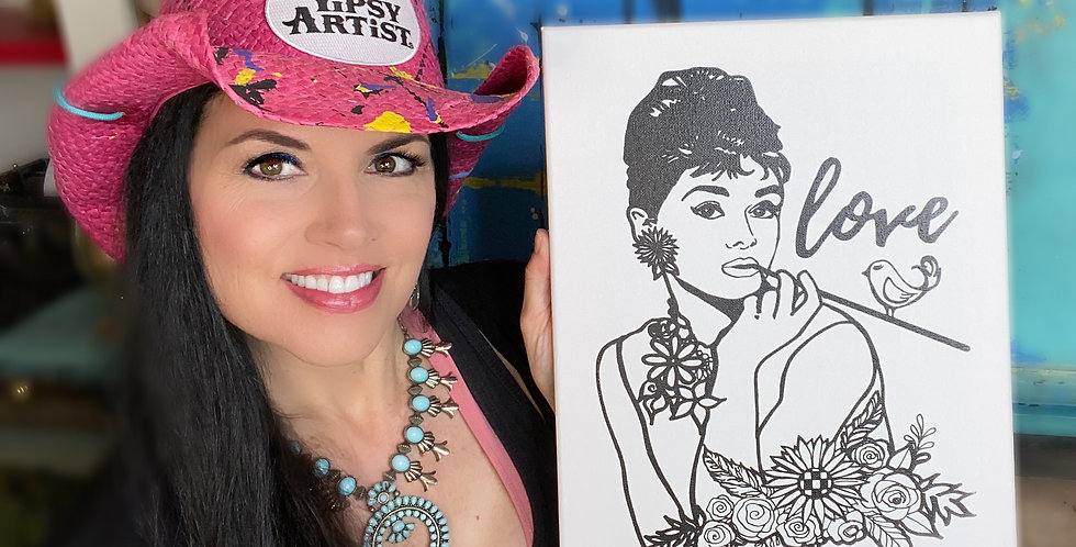 DIY Audrey Canvas with Online Video Class