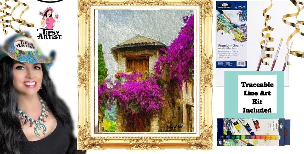 Tuscany Romance ~ Painting Kit
