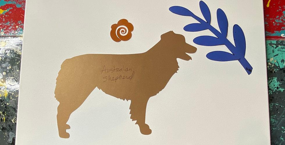 Australian Shepherd Template Pack
