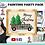 Thumbnail: Buffalo Check Christmas Pickup Painting Kit ~ Painting Party Gift