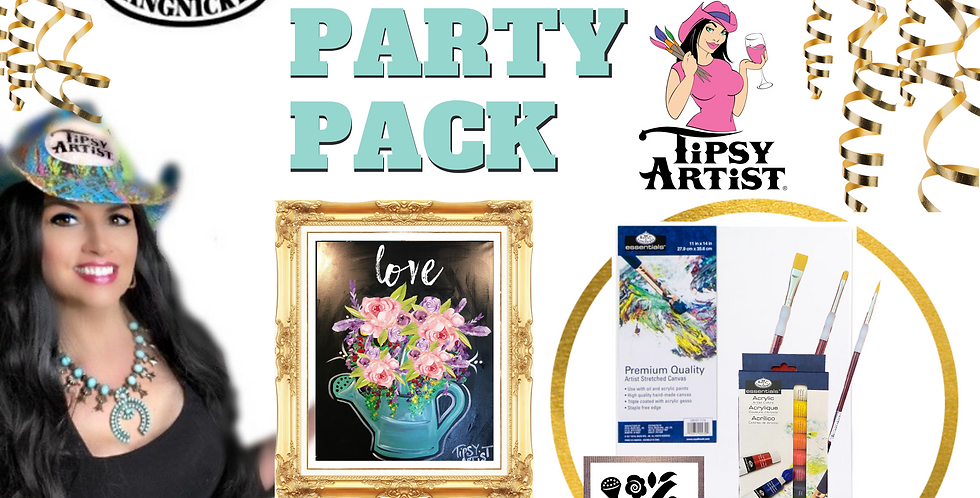 Love Water Can Painting Party Pack