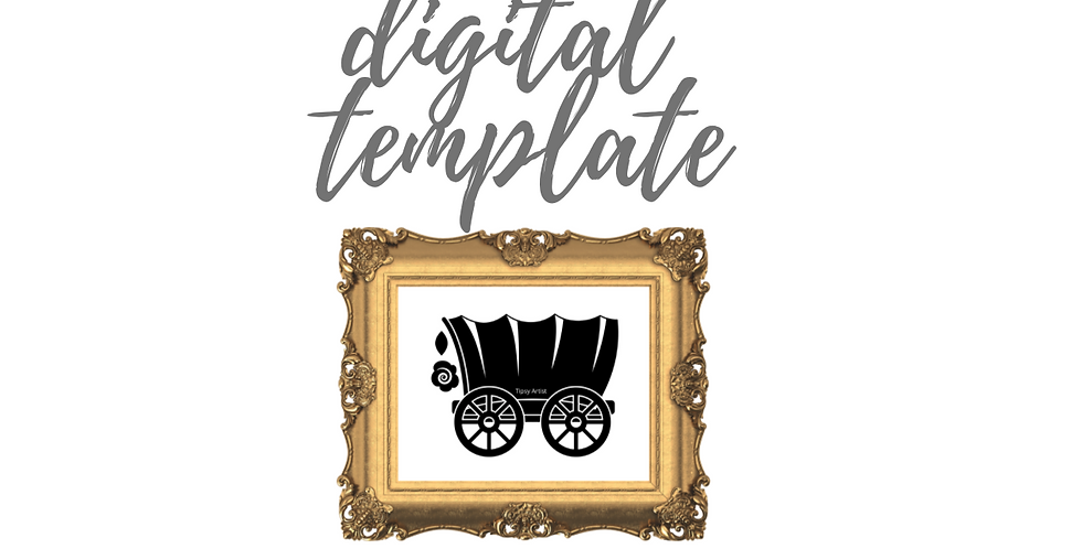 Covered Digital Template Pack