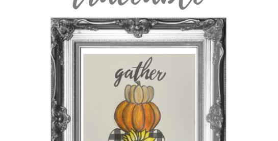 Gather Stacked Pumpkins Traceable Digital Pack