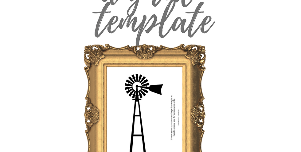 Windmill Template Pack