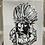 Thumbnail: Geronimo Design on 11 x 14 Canvas