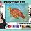 Thumbnail: Smiling Colorful Sea Turtle ~ Painting Kit