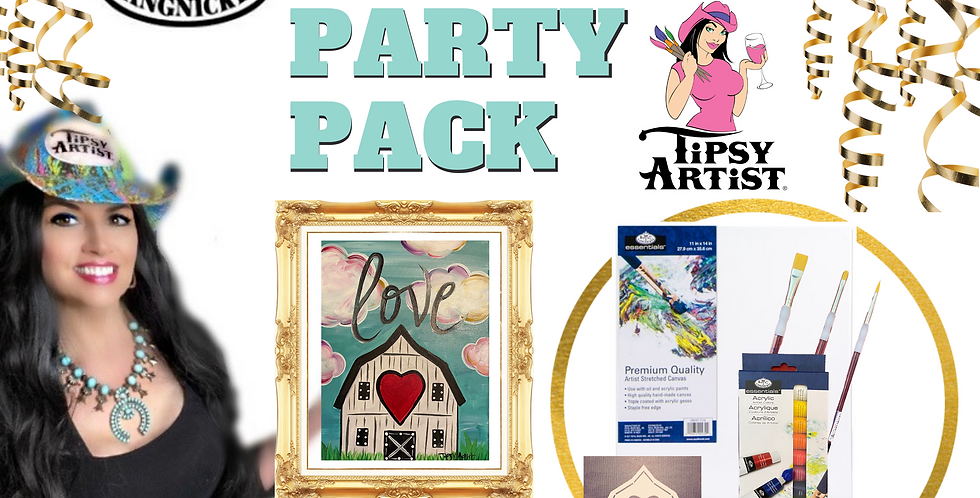 Love Barn Painting Party Pack