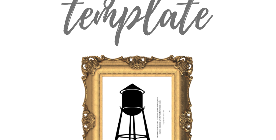 Water Tower Template