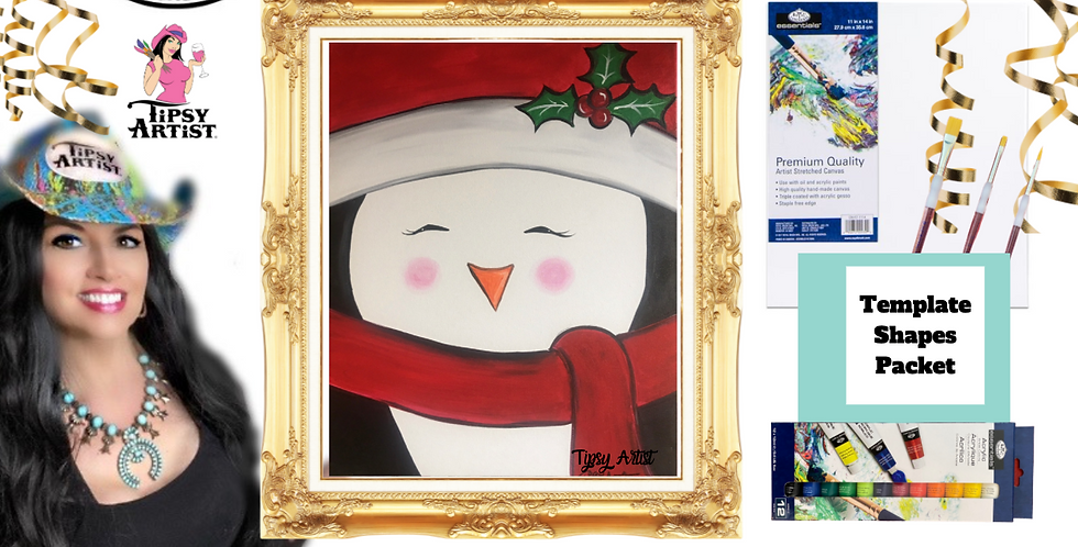 Penguin ~ Painting Party Pack