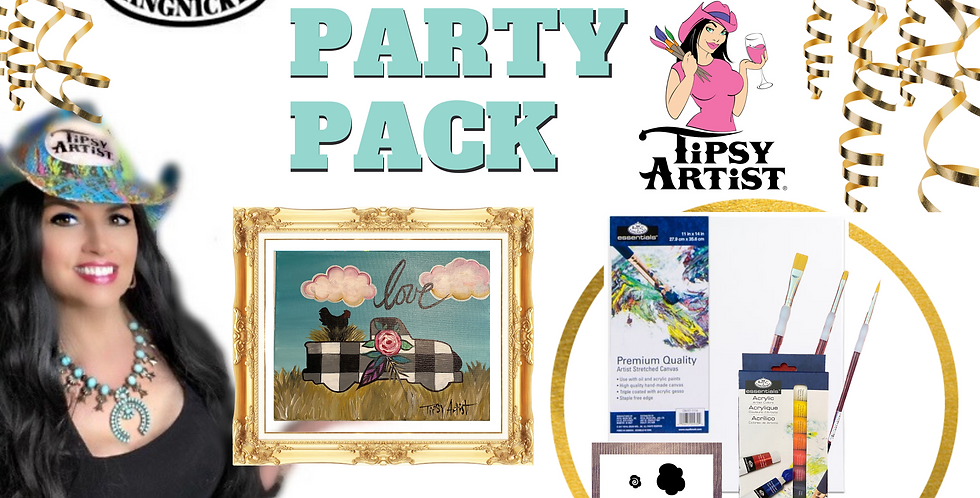 Farm Pickup Painting Party Pack