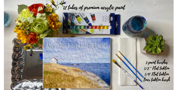 Build a Life You Love Painting Kit ~ Painting Party Gift Pack