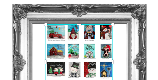 Pick Your Christmas Painting Traceable Pack with Graphite Paper