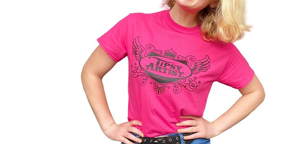 Tipsy Artist Tshirt