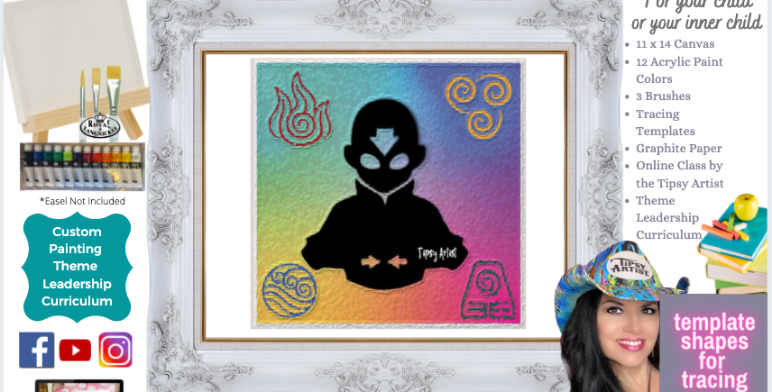 The 4 Elements ~ Painting Party Pack