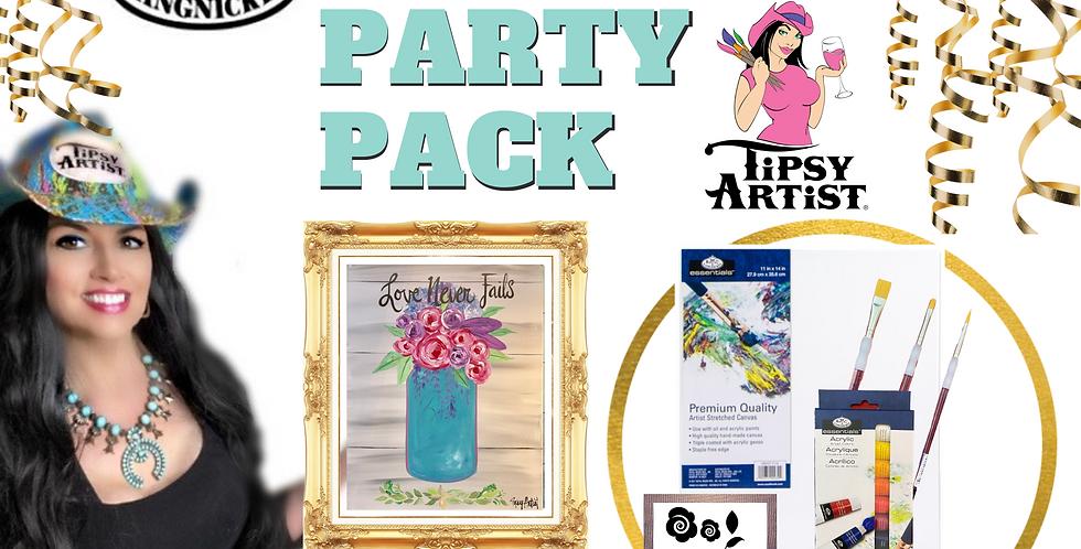 Mason Jar Painting Party Pack