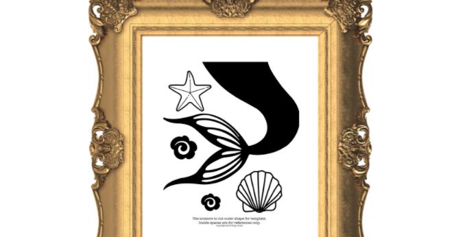 Mermaid Tail  Digital Pack