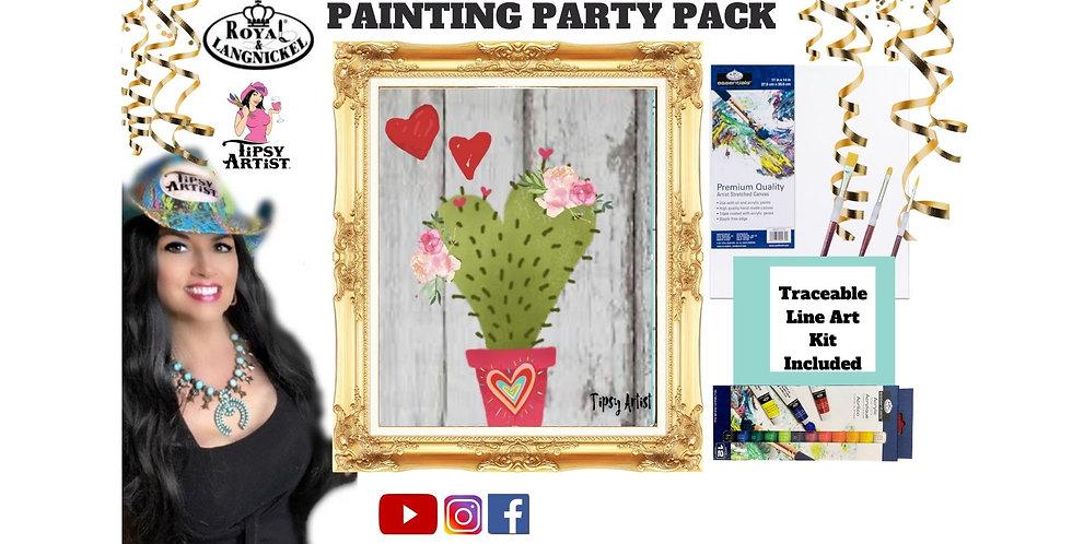 Love Cactus ~ Painting Kit