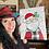 Thumbnail: Smiling Buffalo Check Santa ~ Painting Party Gift
