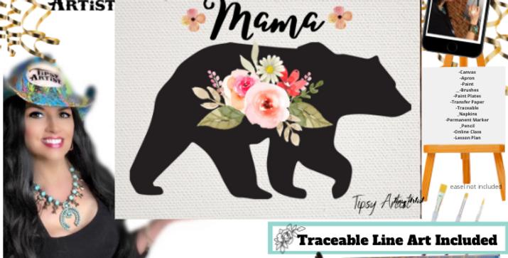 Mama Bear ~ Painting Kit