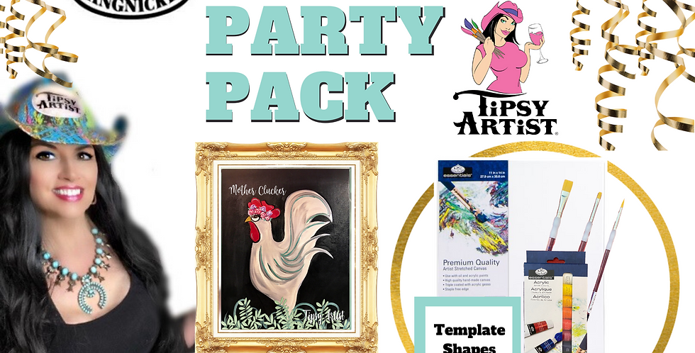 Mother Clucker ~ Painting Party Pack