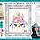 Thumbnail: Llama Boho Princess ~ Painting Party Pack