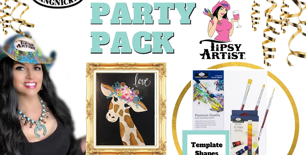 Giraffe ~ Painting Party Pack