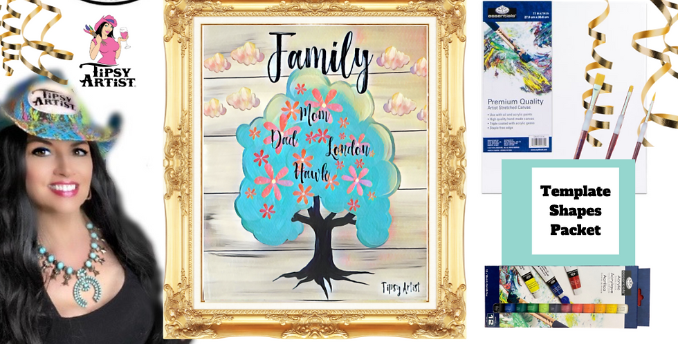 Family Tree ~ Painting Party Pack