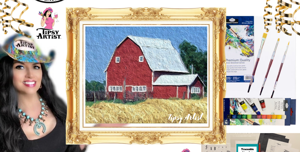 Abundant Farm Life Painting Kit ~ Painting Party Gift Pack