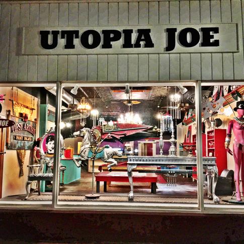 a peak inside Utopia Joe's
