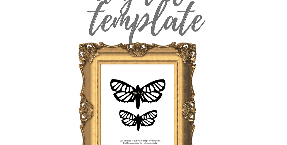 Moths Template Pack