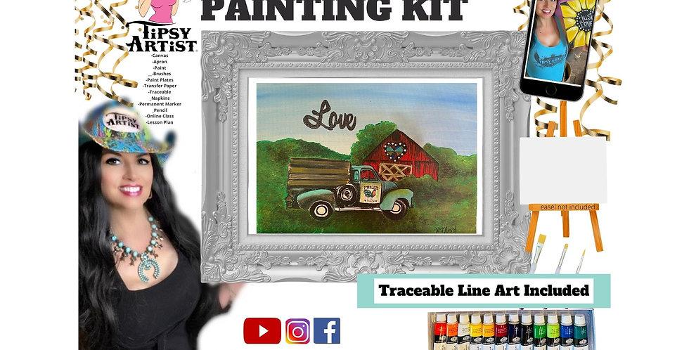 Love on the Farm ~ Painting Kit