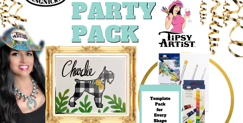 Paint Your Pet ~ Painting Party Pack (Breeds 1-30)