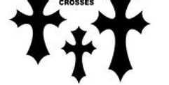Pointed Cross Variety Pack Templates