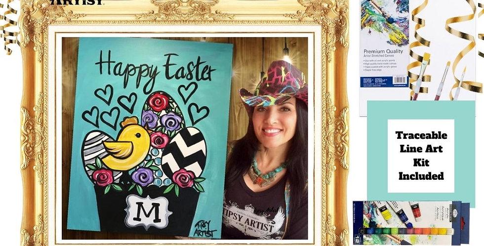 Happy Easter Basket ~ Painting Kit