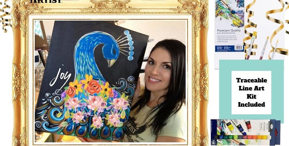 Joy Peacock ~ Painting Kit