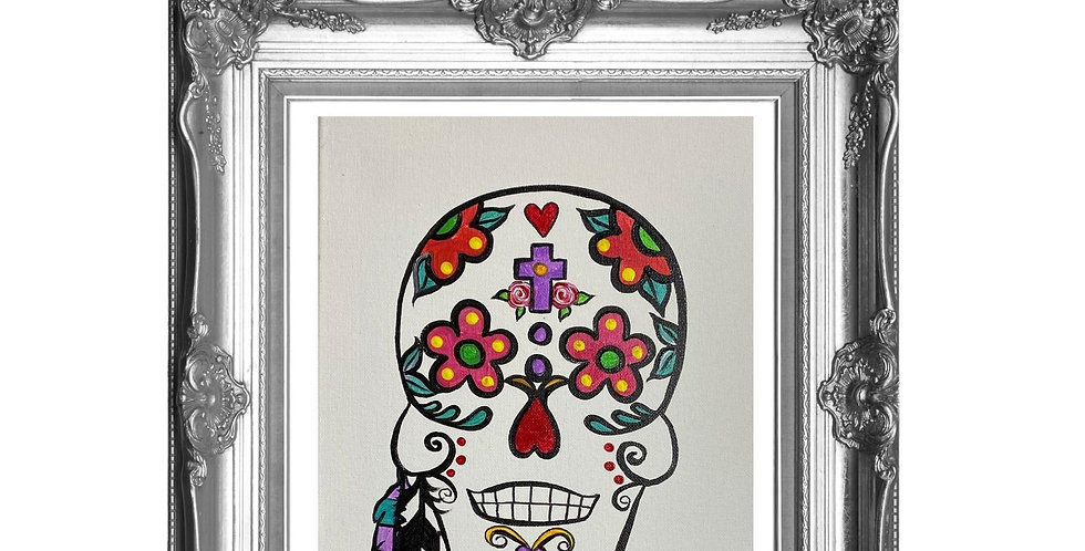 Sugarskull Cardstock Tracing Template Pack with Online Video